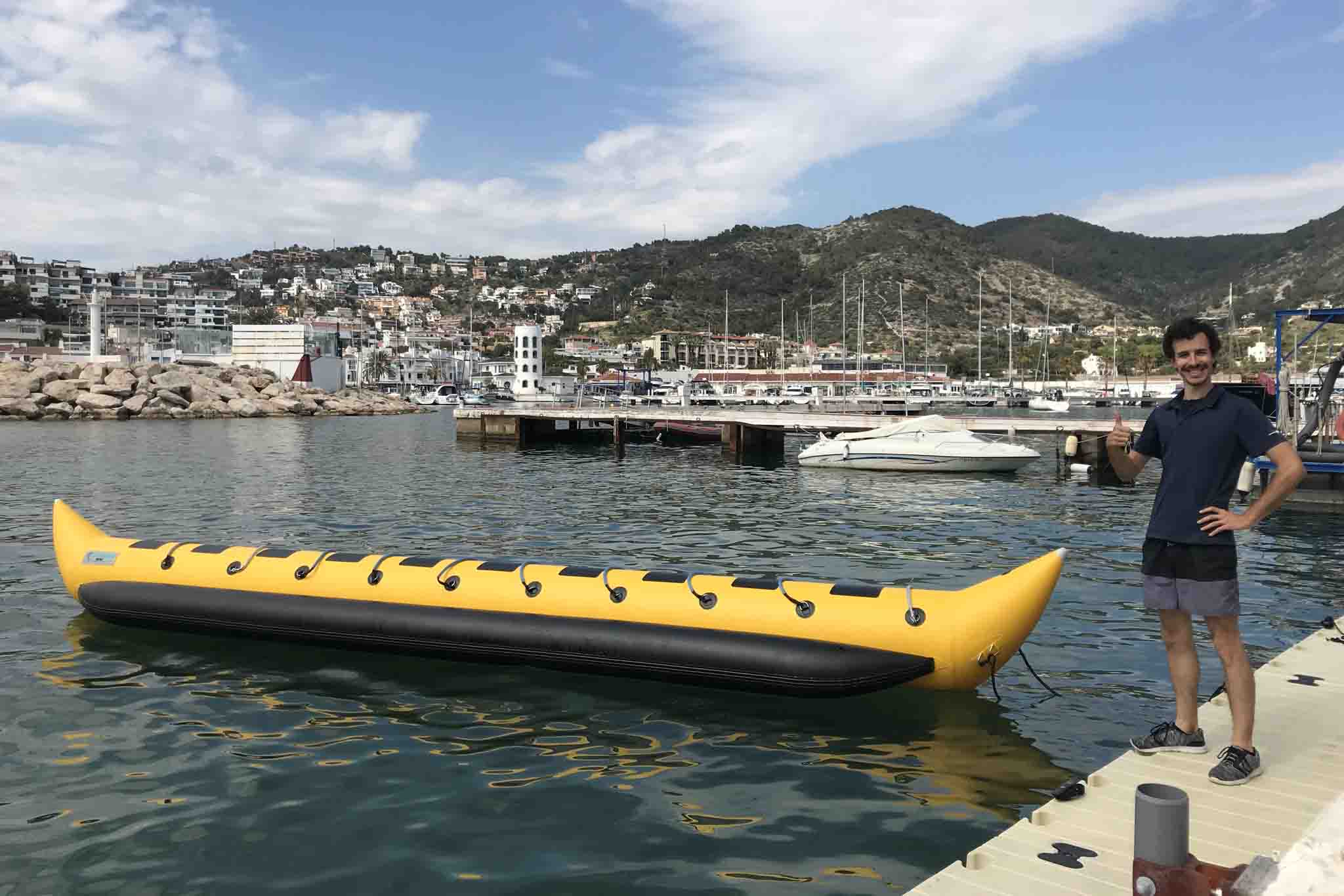 Deportes Acuaticos Sitges Banana Boat 2