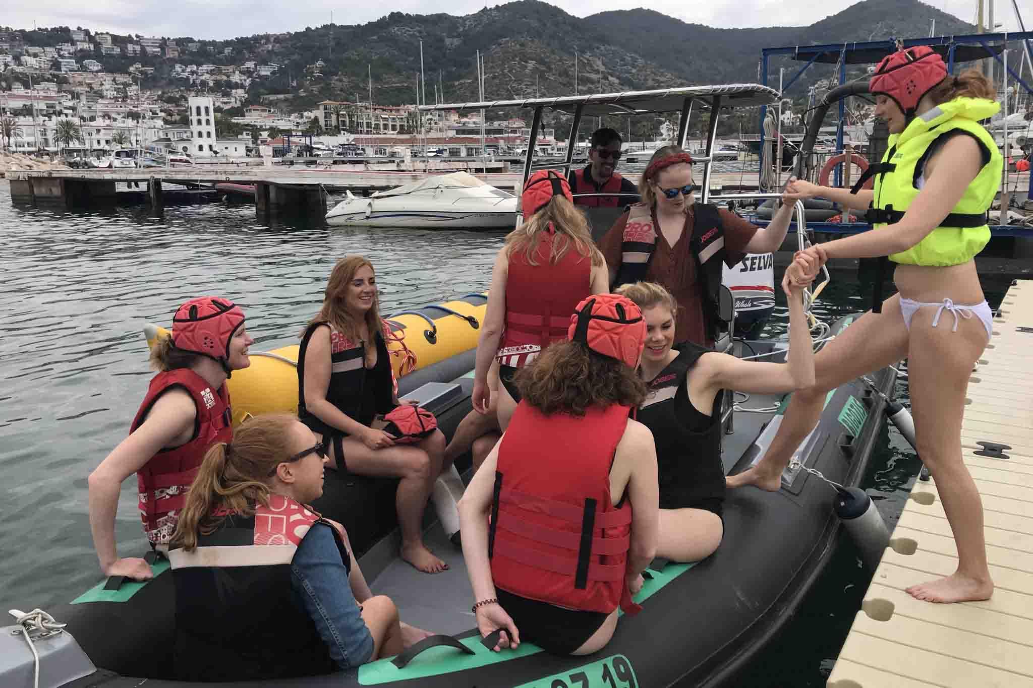 Deportes Acuaticos Sitges Banana Boat 3