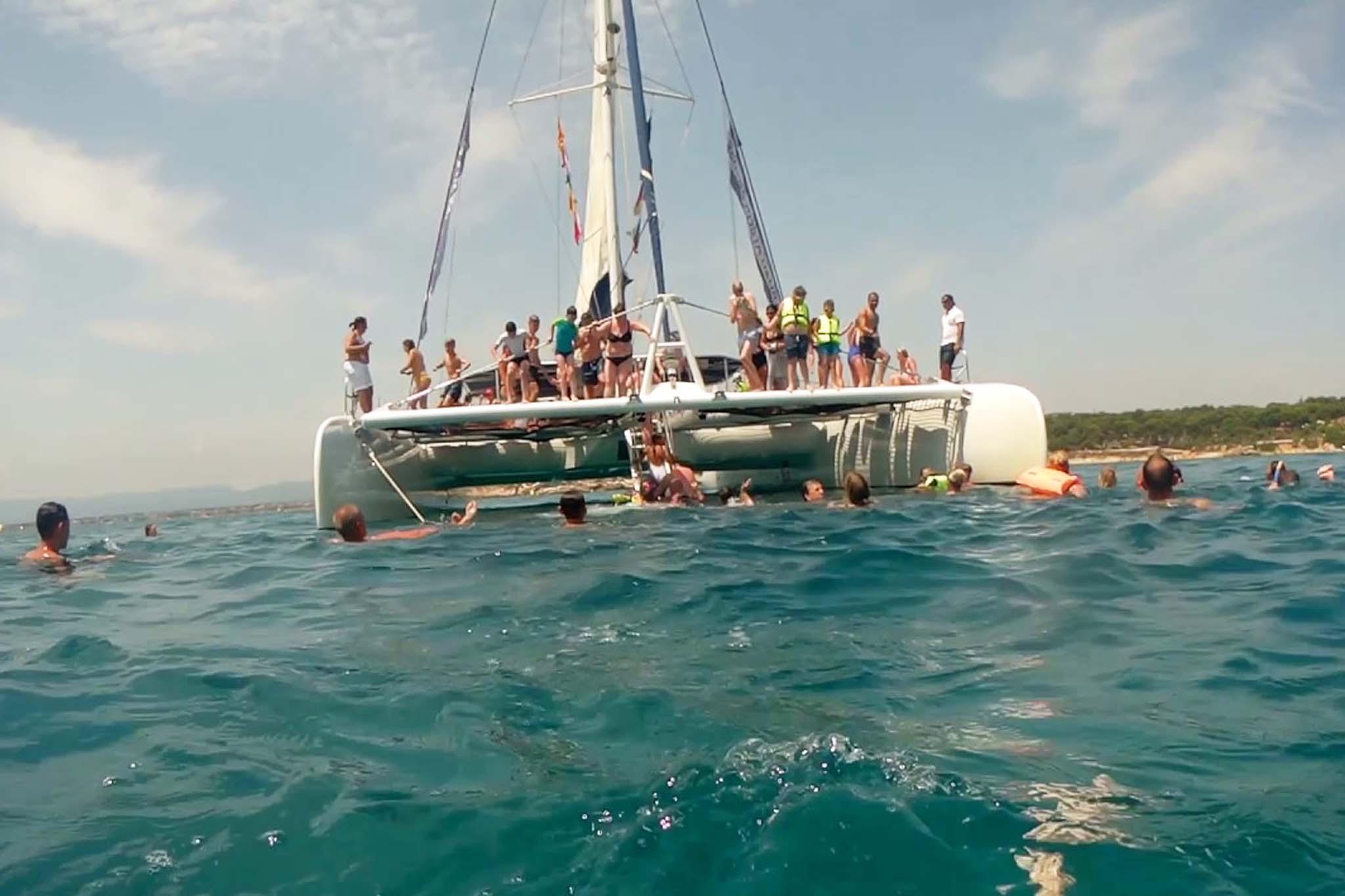 Paseos Catamaran Sitges 2