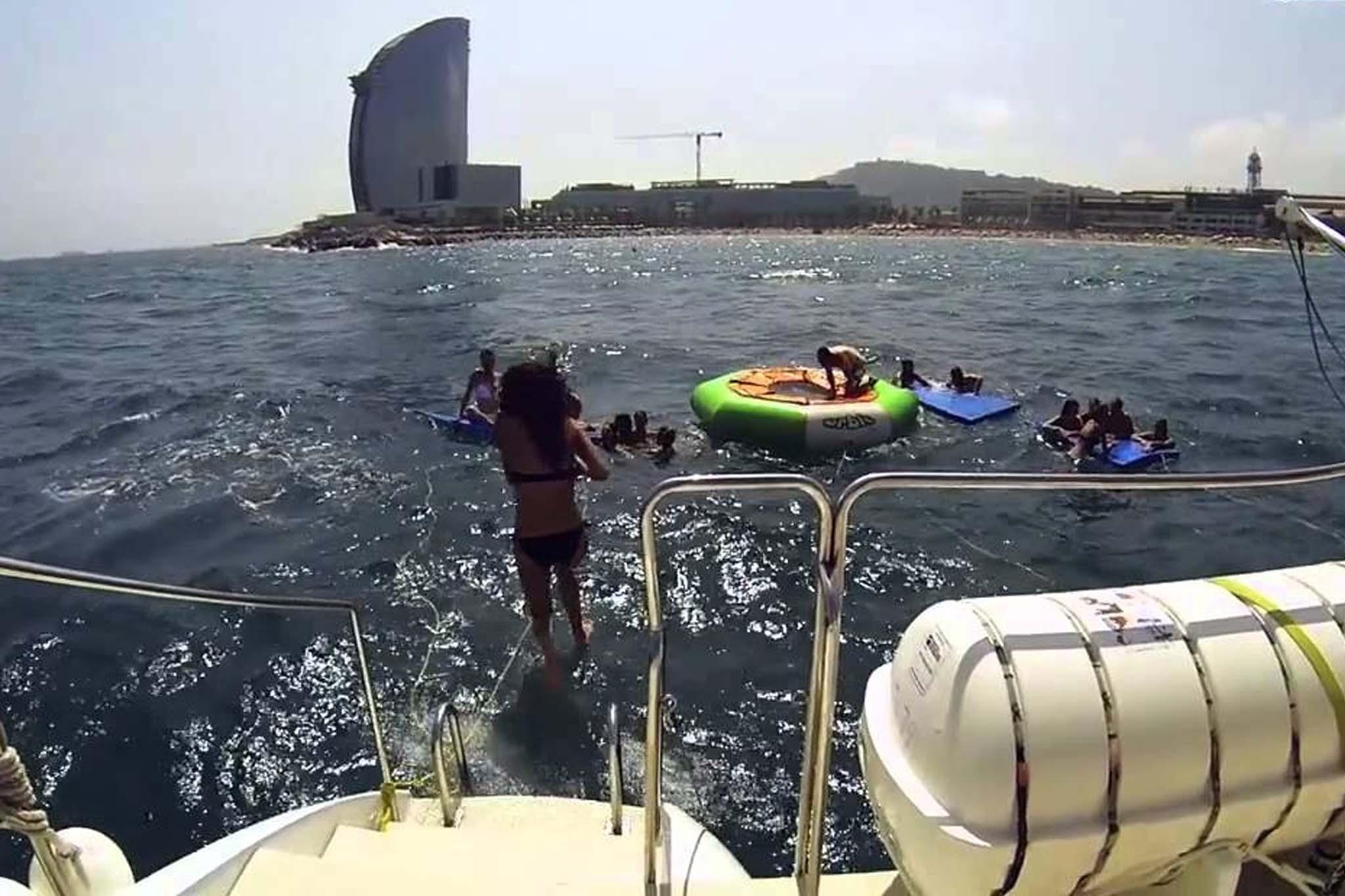 Paseos Catamaran Sitges 3