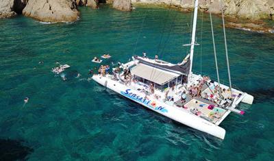 Catamaran en Sitges 3
