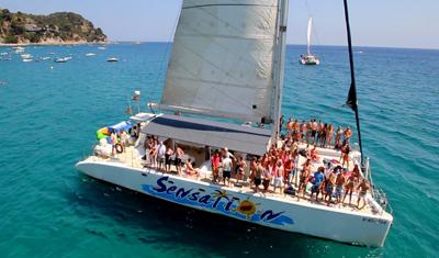 Catamaran en Sitges 4