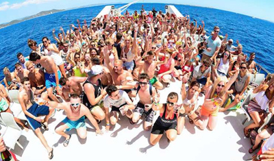Barco Despedidas Sitges 5