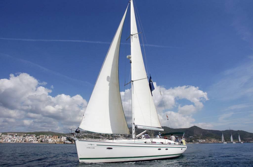 Paseo en barco Sitges 1