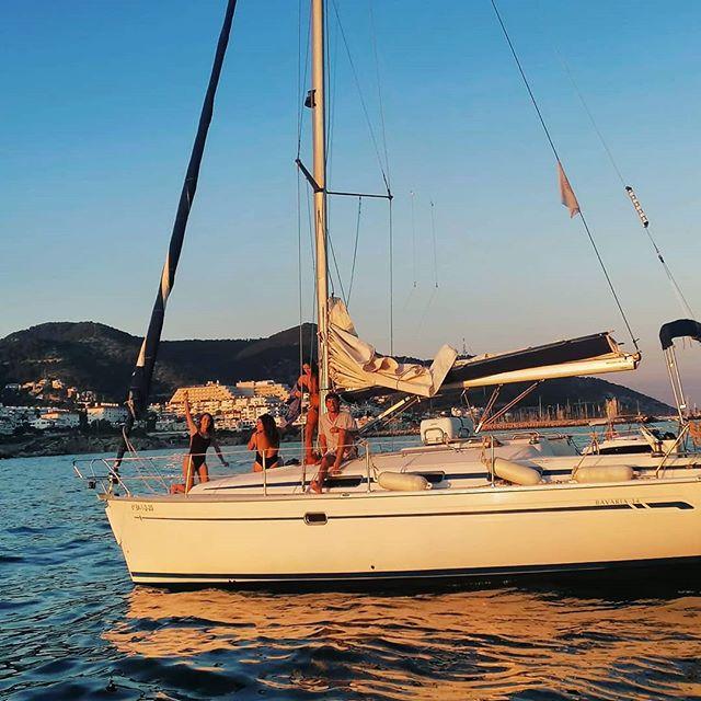 Barcos En Sitges 1