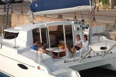 Catamaran en Sitges