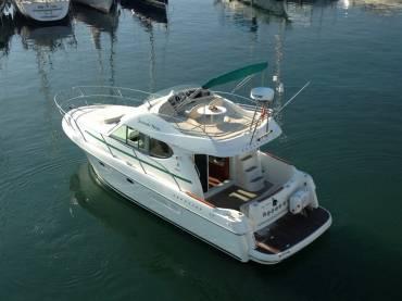 Barcos en Sitges Motoras