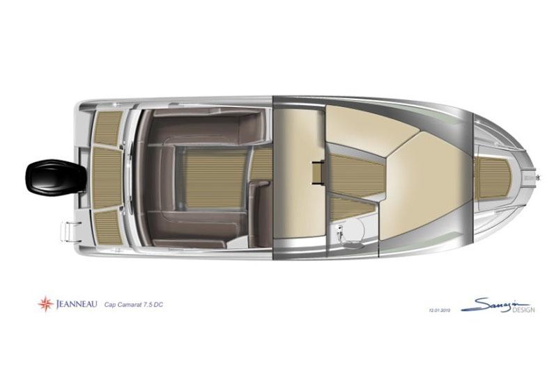 Alquila un barco Cap Camarat en Sitges 2